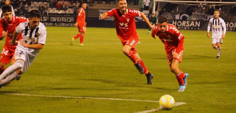 El Real Murcia sufrió para conseguir el pase a la final. RFEF