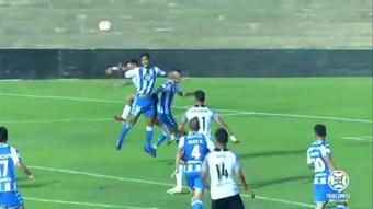 El Deportivo venció 0-1 al Tudelano. Captura/Footters