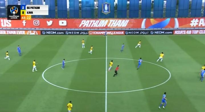 El Pathum United venció al Kaya. Twitter/bgpuoffical
