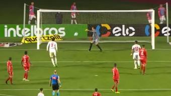 Sao Paulo abusa de un Cuarta al que le endosa nueve goles. Captura/Globoesporte