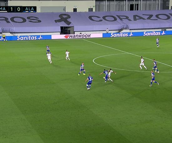 Asensio marcó el 2-0. Captura/MovistarLaLiga