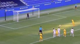 Griezmann marcou o segundo gol do Barcelona em amistoso. Captura/BarçaTV