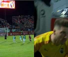 Luca Zidane héros de son équipe. LaLigaTV