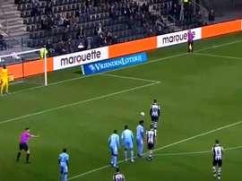 El PSV se frena entre penaltis. Captura/CANLI