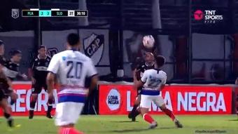 Buffet libre de goles en la noche mágica de Gabriel Rojas. Captura/TNTSportsArgentina