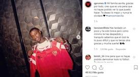 El holandés se despidió a través de las redes sociales. Instagram/QPromes