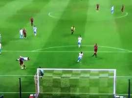 Premier but d'Iniesta au Japon. capture/Tomopanman5