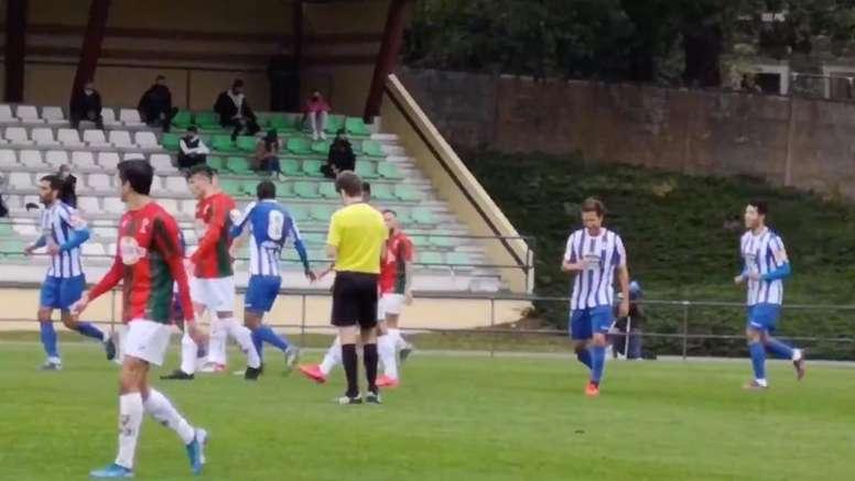 El Dépor ganó 0-3. Twitter/_brunopardo
