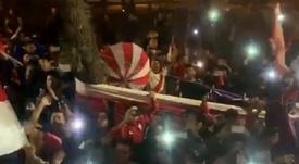 Gran 'banderazo' 'millonario' en Salta. Twitter/CARPoficial