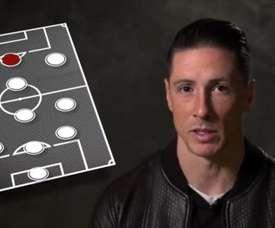Fernando Torres escolheu o time dos melhores com quem jogou. Youtube/LiverpoolFC
