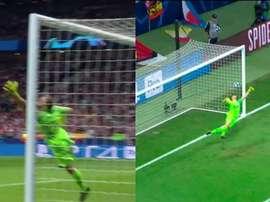Danjuma marcó un golazo. Captura/Movistar