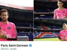 Le PSG a oublié Mbappé. Capture/PSG
