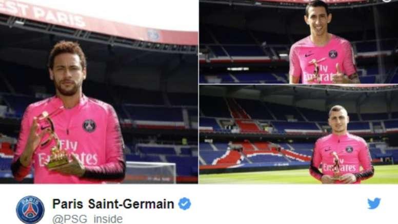 El PSG se olvida de Mbappé. Captura/PSG