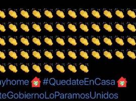 Valladolid comete erro no Twitter.  Twitter/RealValladolid