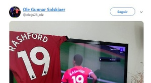 Solskjaer sumó la sexta consecutiva. Twitter/olegs26_ole