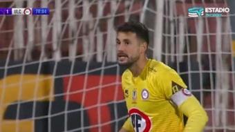 Colo-Colo, La Calera y dos pinchazos que avivan la Liga en Chile. Captura/TNTSports