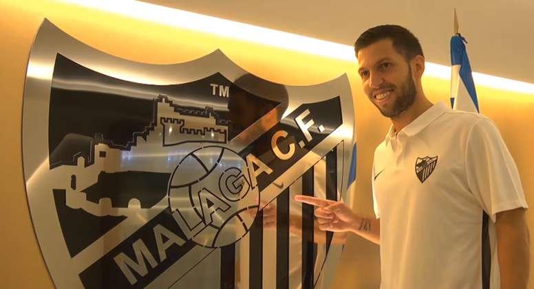 Pacheco is a Malaga player. MalagaCF
