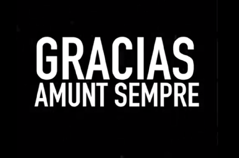 Parejo se despidió con un vídeo emotivo del Valencia. Captura/DaniParejo