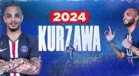 Kurzawa renueva con el PSG. Twitter/PSG_inside
