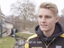 Odegaard s'exprime sur son futur. Capture/Vitesse