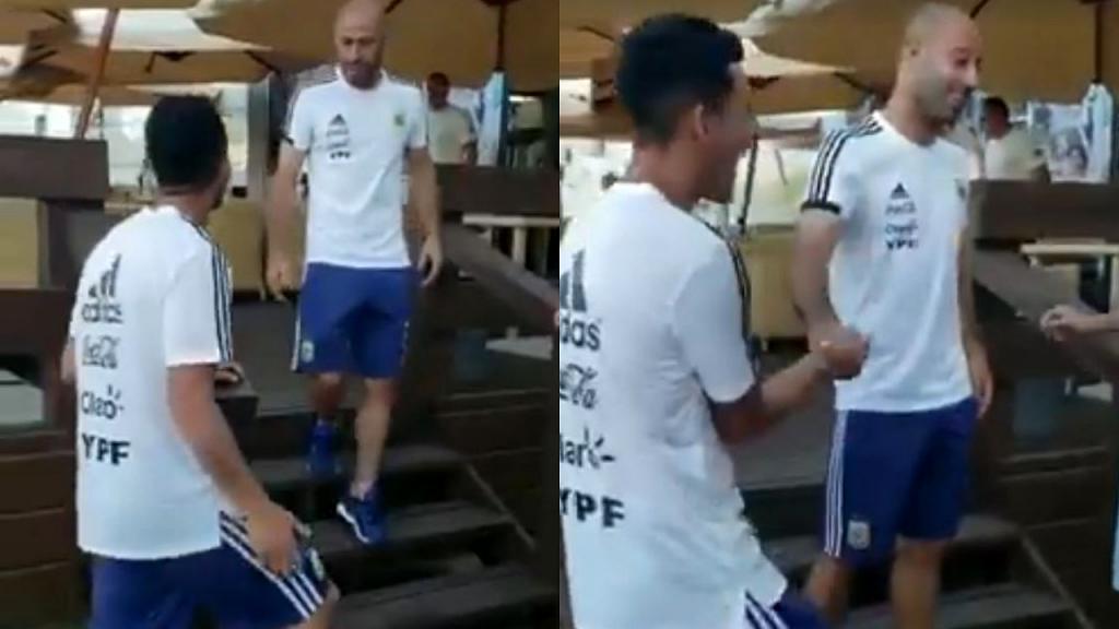 Mascherano insultó a Caballero tras el blooper ante Croacia — Caruso Lombardi