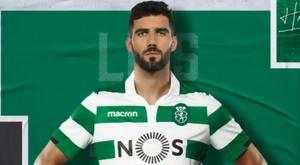 Il signe jusqu'en 2022. Capture/SportingPortugal