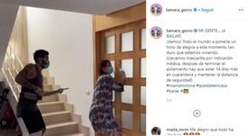La danse de Garay après avoir vaincu le COVID-19. Instagram/tamara_gorro