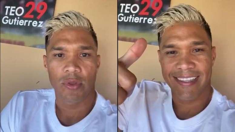 Teo insultó a sus críticos... y al día siguiente pidió perdón. Twitter/TeoGutiérrez