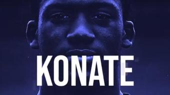Konate has signed for Liverpool. Captura/LFC
