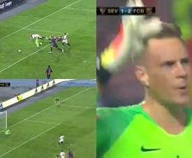 O paredão alemão garantiu o título nos 90 minutos. Captura/TVE