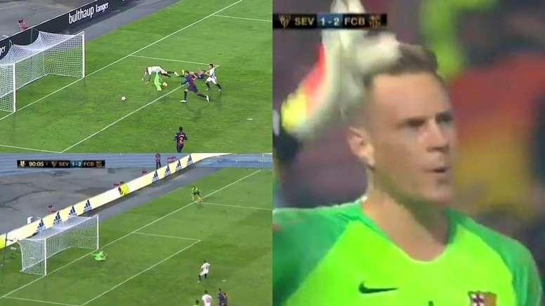 Pin O paredão alemão garantiu o título nos 90 minutos. Captura TVE c4b19870b8c71