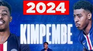 o PSG renova com Kimpembe até 2024. Captura/PSG
