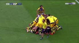 El Parma dio la sorpresa en el Giuseppe Meazza con el gol de Dimarco. beINSports