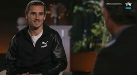 Griezmann has given an interview. Screenshot/Vamos