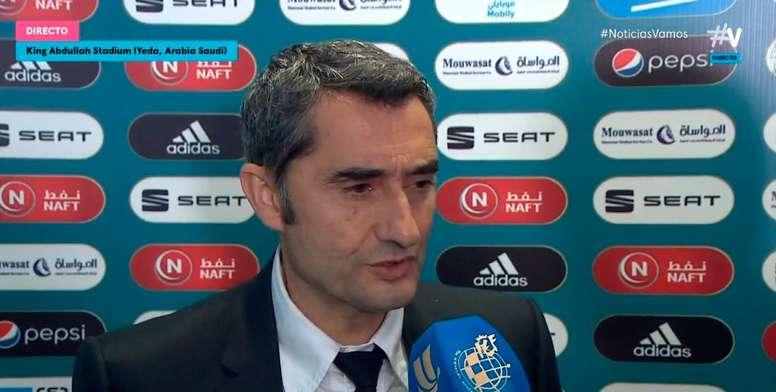 Grosse déception pour Valverde. Movistar+