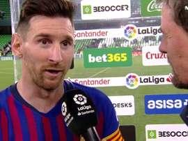 Messi, o dono do jogo. Movistar+