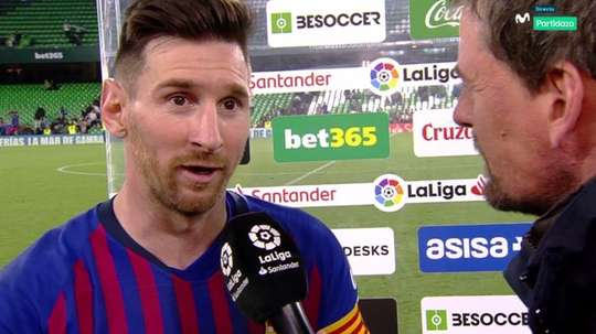 Messi, o dono do jogo. Movistar+