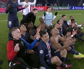 Le PSG averti par l'UEFA. RMC1