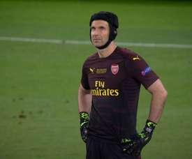 O triste adeus de Cech, goleado pelo ex. Movistar+