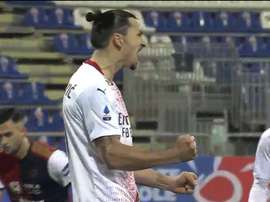Ibrahimovic porta in vantaggio il Milan. SkySport