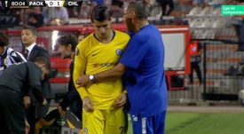 Morata falló lo infallable en Salónica. Movistar+