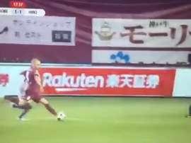 Il secondo goal di Iniesta in Giappone. SportDigital
