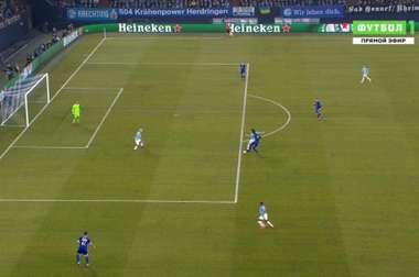 Silva se aprovechó del despiste de la zaga germana. Futbol1