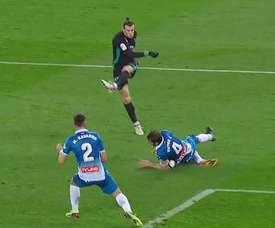 Bale a tiré et Victor s'est imposé sur son chemin. beINSports