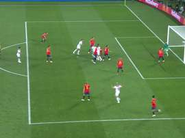 En-Nesyri scored Morocco's second. Screenshot