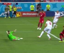 Ben Yousseff scored the equaliser for Tunisia. DIRECTVSports