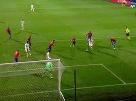 Benzema a ouvert al marque et Casemiro l'a imité. Movistar+
