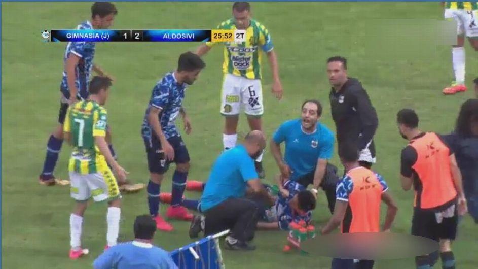 Futbolista sufre fractura de cráneo por recibir violento codazo