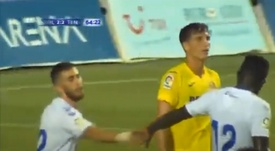 El Tenerife ha ganado 2-3 al Villarreal. Captura/MediTV /LevanteTV