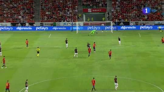 Deux jolis buts de la part d'Asensio. TVE